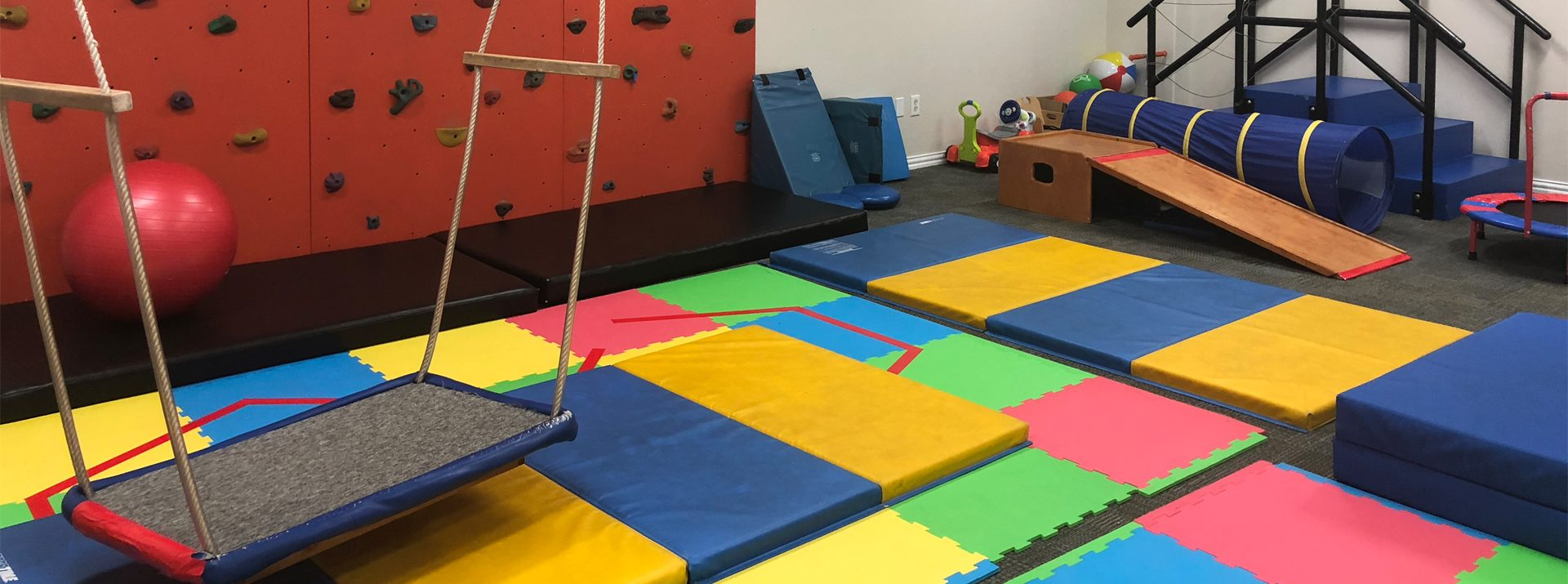 Our state of the art gym has everything your child needs on their journey for growth and development